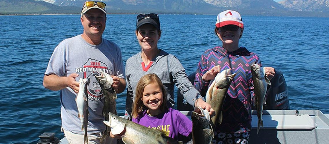 Lake Tahoe Fishing Guide
